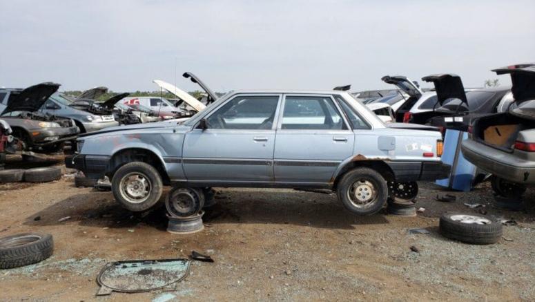Junkyard Gem: 1983 Toyota Camry Sedan