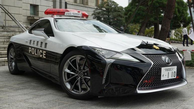 After A Nissan GT-R, This Japanese Police Department Welcome A Lexus LC 500 To Their Fleet