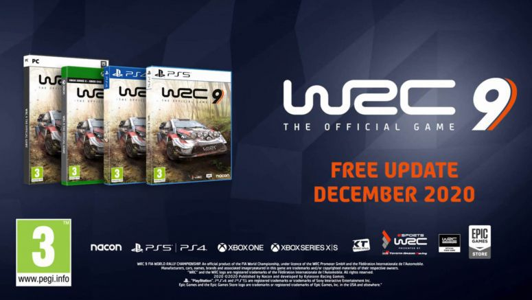 WRC 9 December Update To Include The Toyota GR Yaris Rally Concept