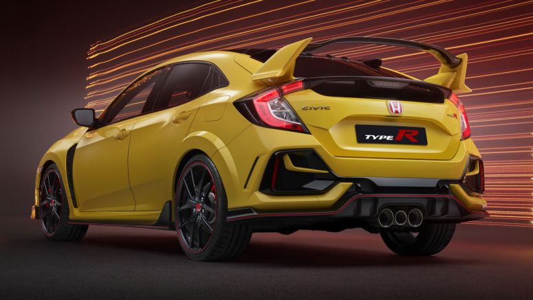You Can Now Win The First 2021 Honda Civic Type R Limited Edition In The US