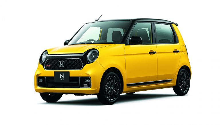 Honda announces all-new N-One kei car, adds manual-transmission option