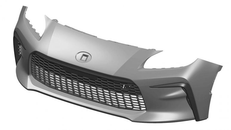 Patent Filings Reveal Upcoming Toyota GR 86 Front Bumper