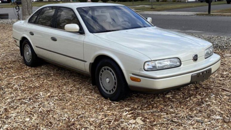 1992 Infiniti Q45 up for auction has just 8,800 miles