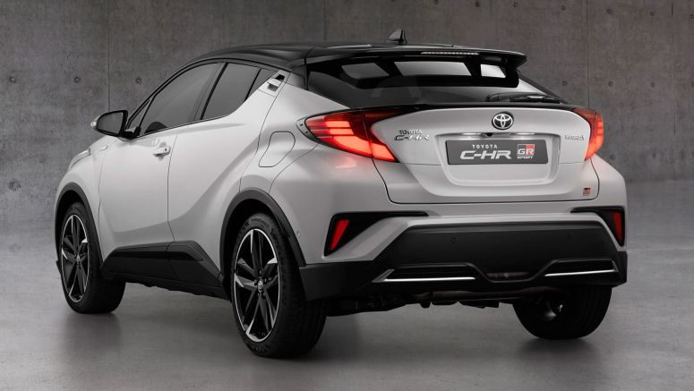 2021 Toyota C-HR Hybrid GR Sport Joins The Model's UK Range