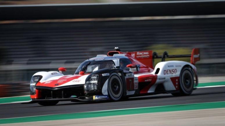 Toyota GR010 Hybrid Le Mans race car unveiled