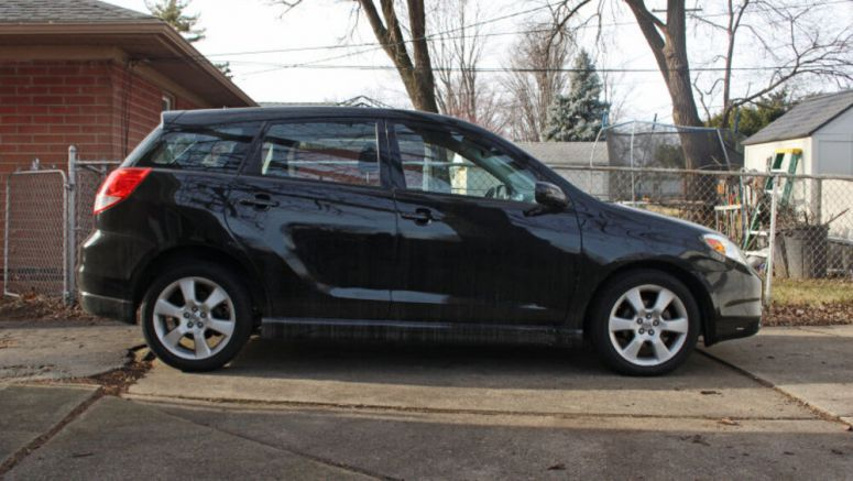 2003 Toyota Matrix Autoblog fleet update