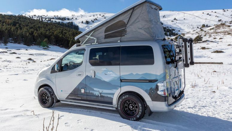 Nissan Turns The e-NV200 EV Into An Outdoors Office