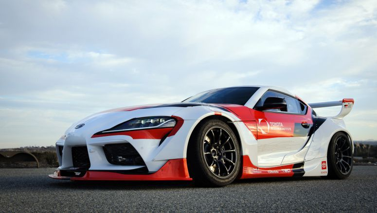 Toyota builds autonomous drift Supra, for safety reasons