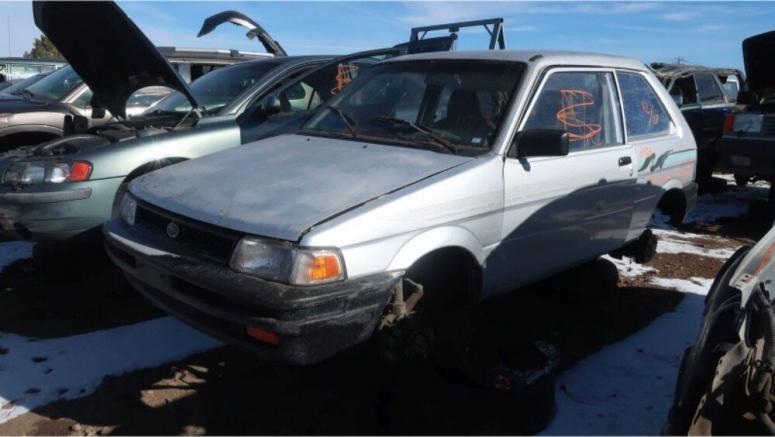 Junkyard Gem: 1992 Subaru Justy