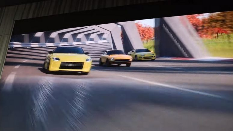 Watch The Nissan Z Proto Play With Its Ancestors In New Digital Commercial