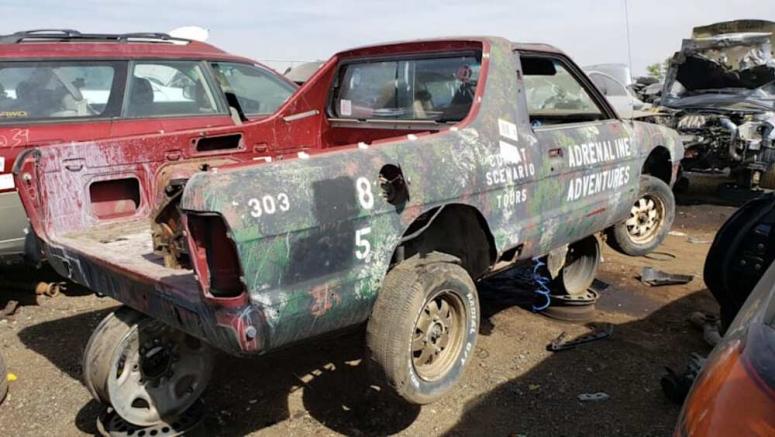 Junkyard Gem: 1984 Subaru BRAT