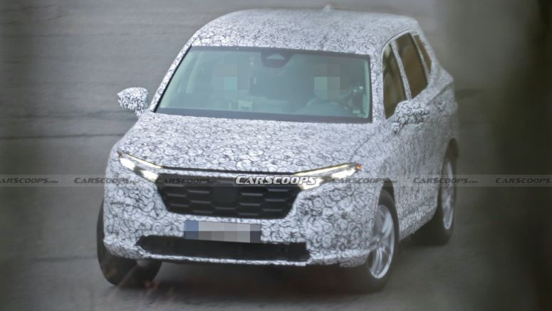 Could This Be The All-New 2023 Honda CR-V Spied For The First Time?
