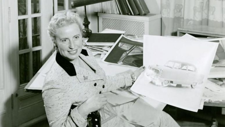 On International Women's Day, honoring Helene Rother, pioneer of car interior design