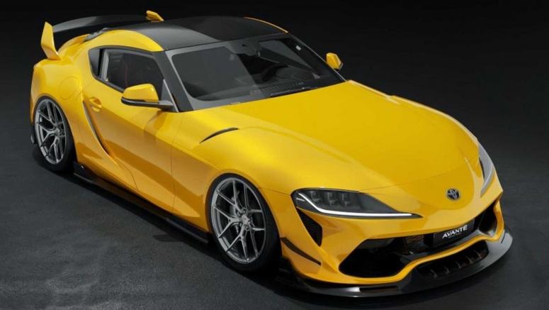 Avante Design Dreams Up An Imaginary Bodykit For Toyota Surpa Mk5