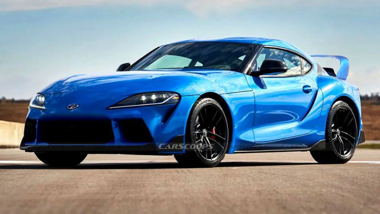 What If The Mk5 Toyota Supra Looked More Like Its Mk4 Predecessor?