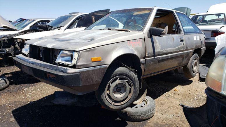 Junkyard Gem: 1987 Mitsubishi Mirage L Hatchback