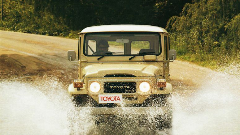Toyota will re-release spare parts for the 40-Series Land Cruiser
