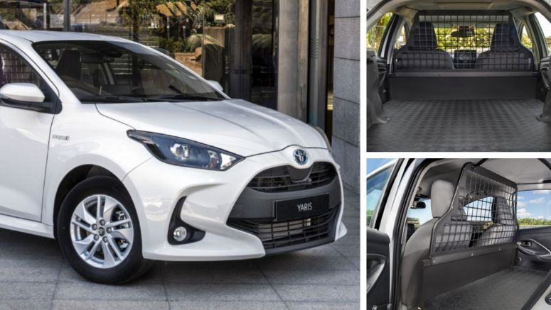 Toyota Yaris ECOVan Is A Small Commercial Vehicle With Hybrid Powertrain, Plenty Of Cargo Space
