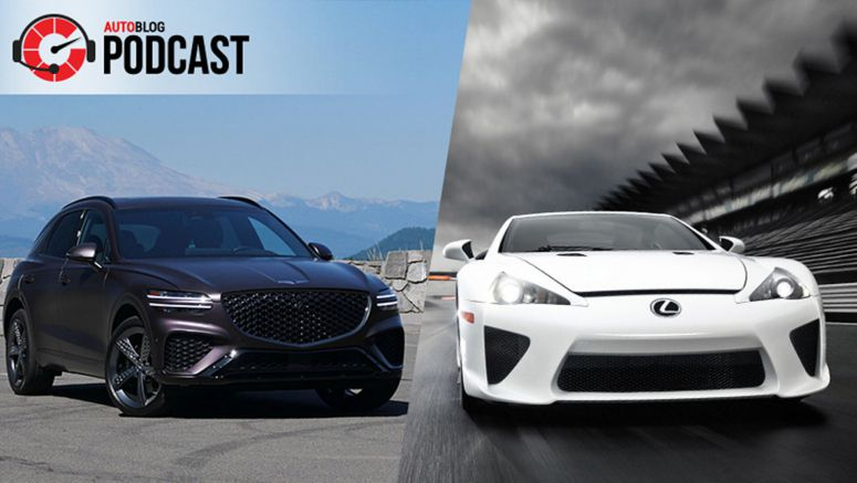 2022 Genesis GV70, raging at VW ID.4 tech and thoughts on a new Lexus LFA | Autoblog Podcast #696
