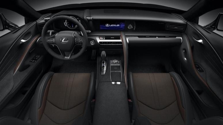 Lexus unveils UK-only LC Black Inspiration