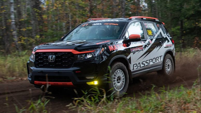 2022 Honda Passport is going rally racing