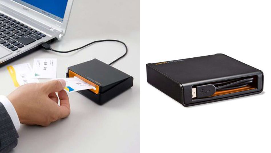 Sanwa Business Card scanner Technology