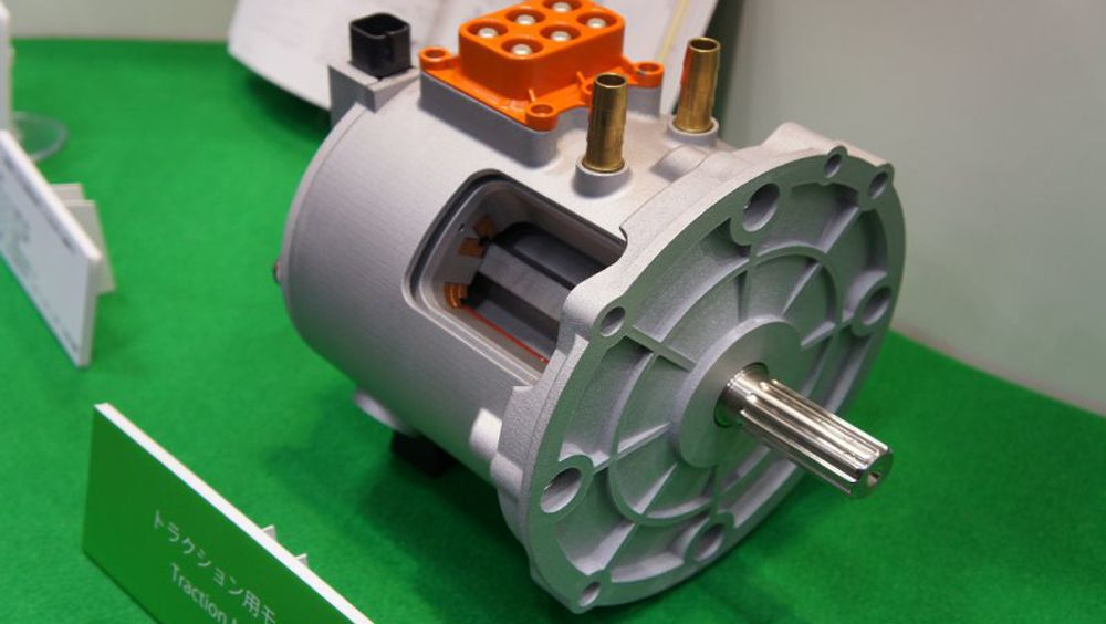 Nidec Shows Off Switched Reluctance Motor for EVs, HEVs | Technology