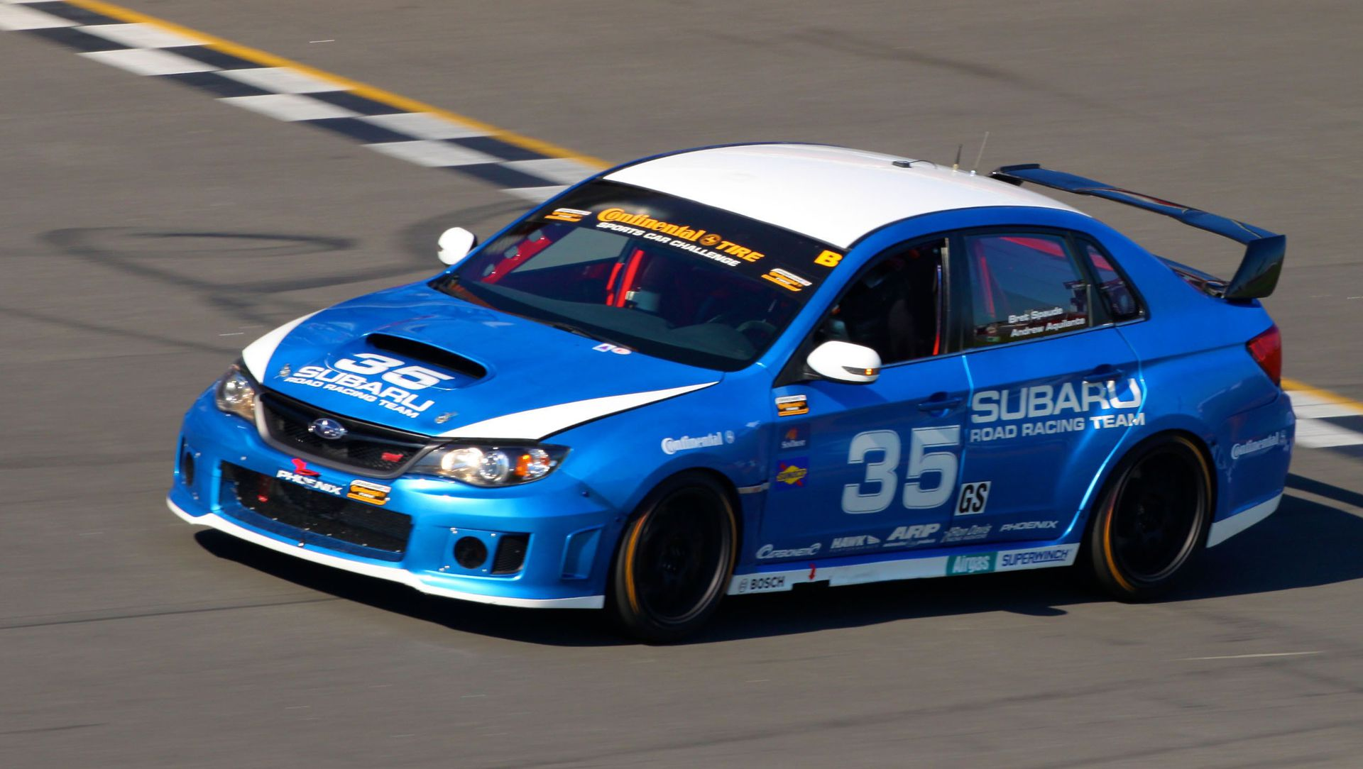 Subaru Road Race Team Eager For Round Of Grand Am Series Auto