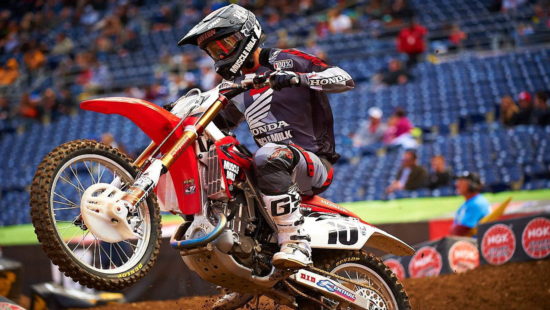 Honda Riders Battle Their Way to the Podium in San Diego