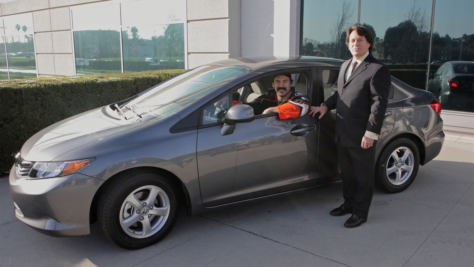 2012 Honda Civic Natural Gas Keys Netted By Nhl Star George Parros