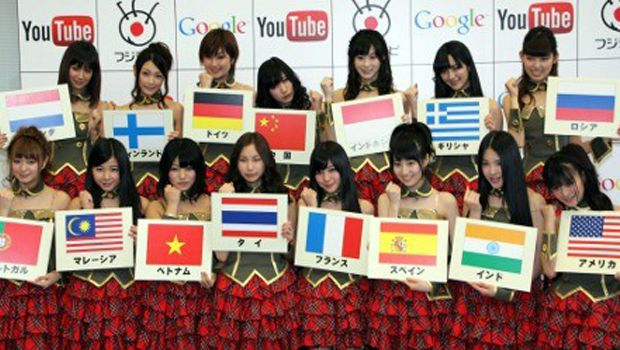 Fuji TV 'Idoling' and other shows available on YouTube