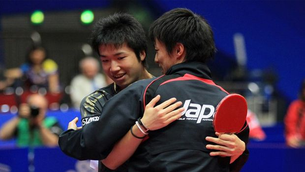 Table tennis : Japanese men lose in semis at team worlds