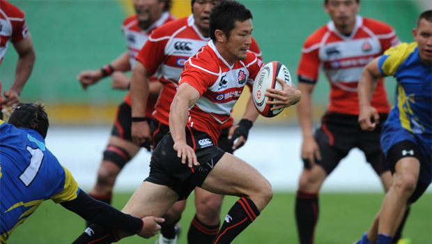 Rugby: Japan crush Kazakhstan at Asian Five Nations