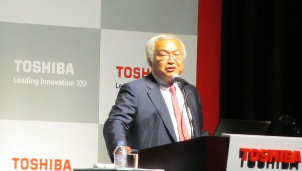 Toshiba President Reveals Strategies for Semiconductors, Storage Devices