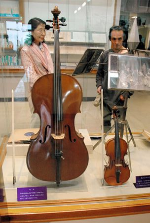 Famed poet cello will make beautiful music again