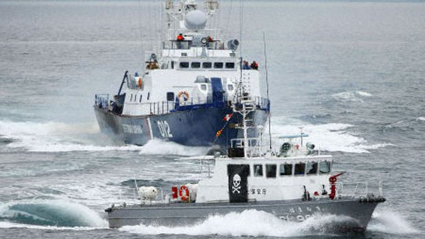 Japan Coast Guard, Russia boarder authority conduct joint drill
