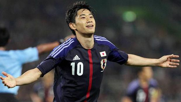 Soccer: Kagawa learns of World Cup selection from flight cabin attendant