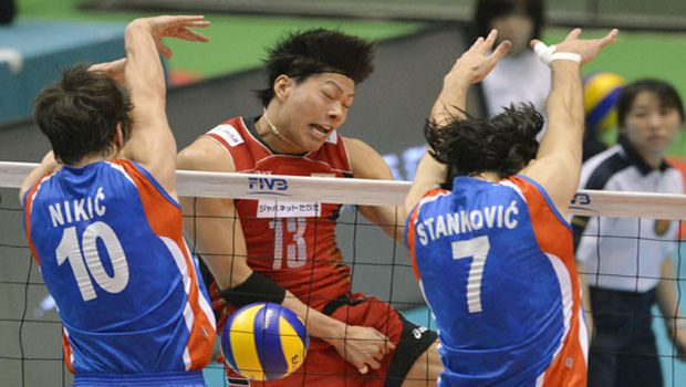 Volleyball: Japanese men lose Olympic qualifying opener to Serbia