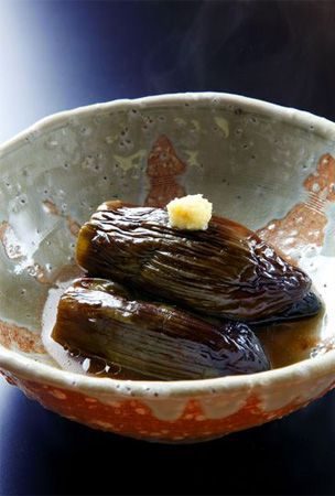 Simmered eggplant recipe