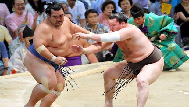 Title coming down to resurgent Hakuho, impressive Harumafuji on Day 12