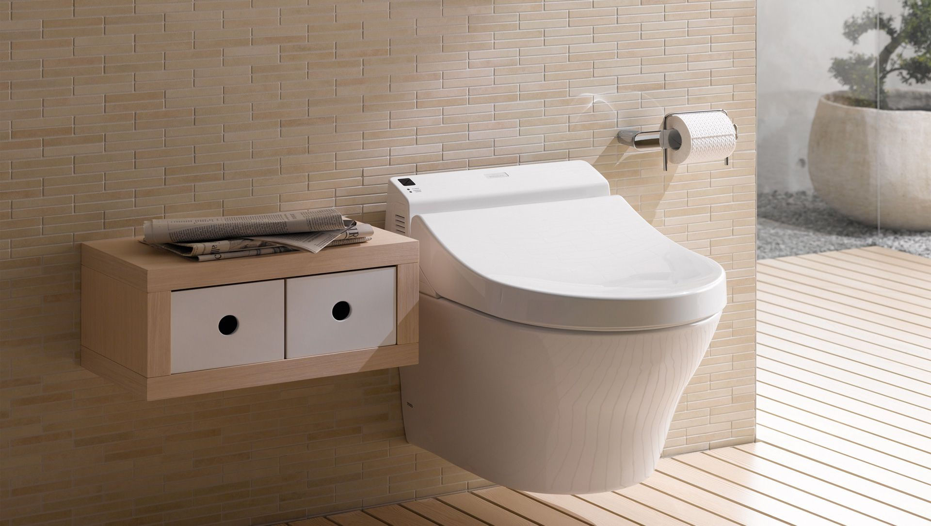 Toto Washlet G toilet seat joins Japan Society of Mechanical ...