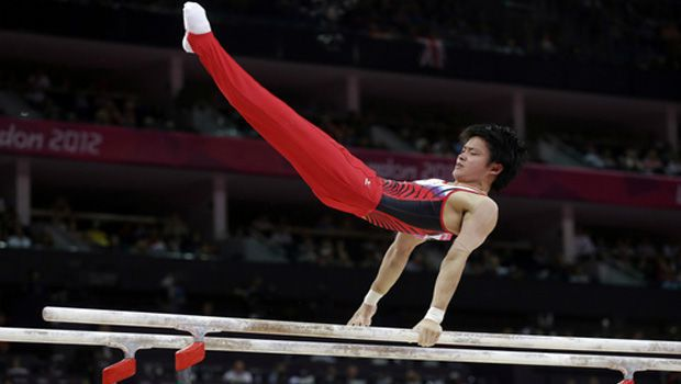 Olympics: Tanaka brothers miss podium in men's parallel bars final