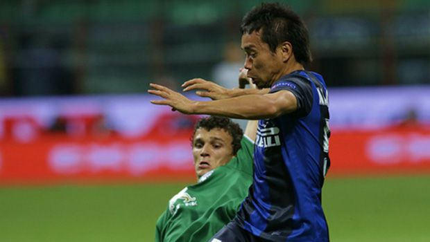 Soccer: Nagatomo injury-time equalizer salvages draw for Inter