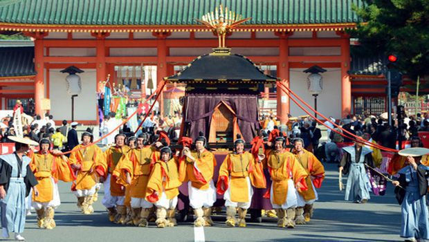 Festival re-enacts Kyoto long history as capital