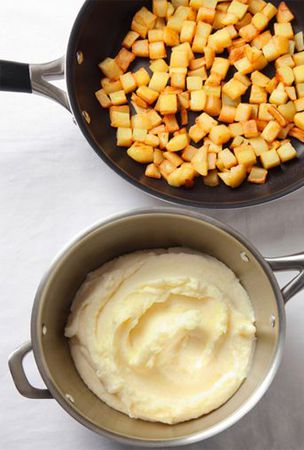 Two classic potato side dishes