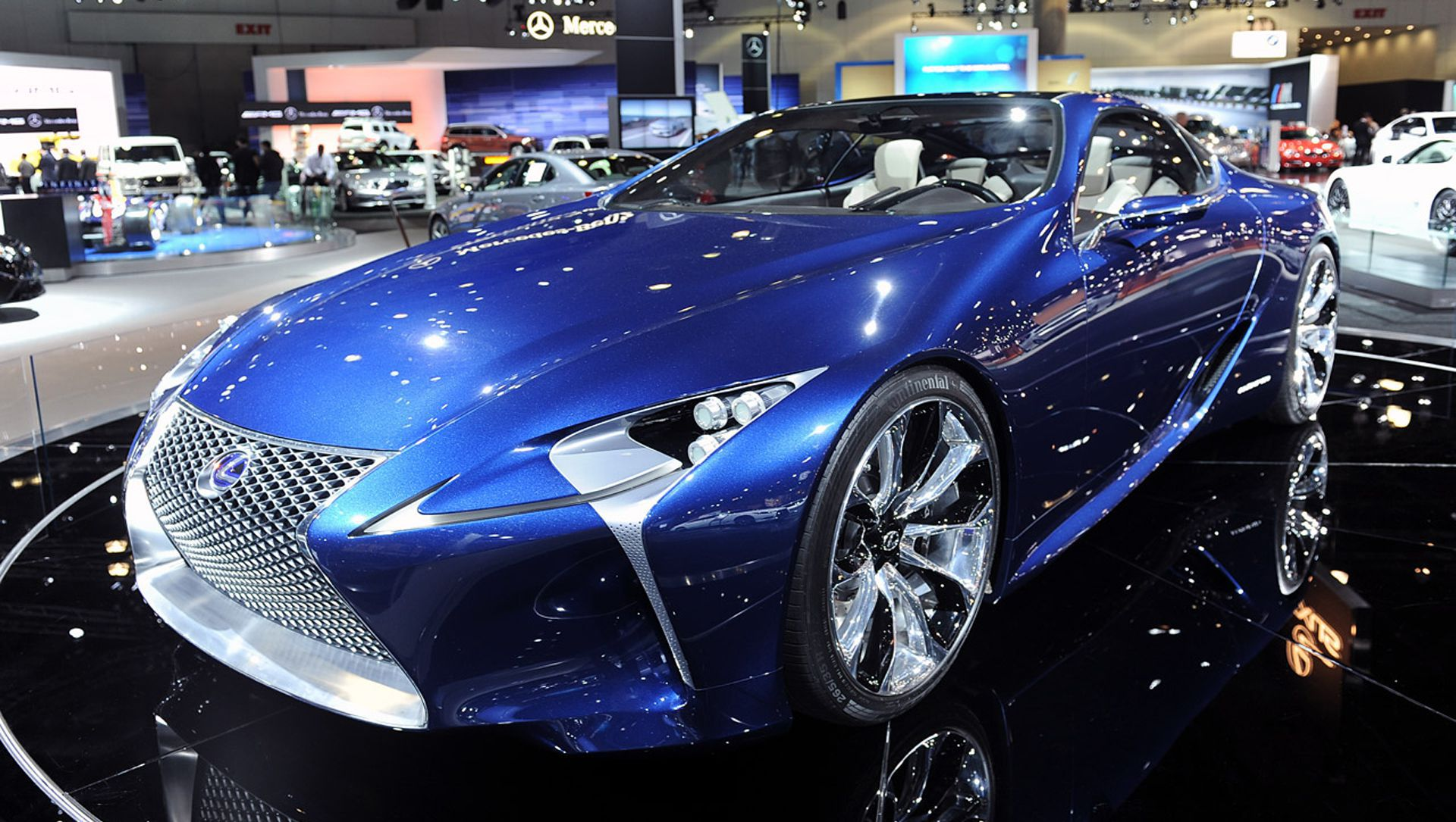 Color car los angeles - Los Angeles 2012 Lexus Lf Lc Concept Blue