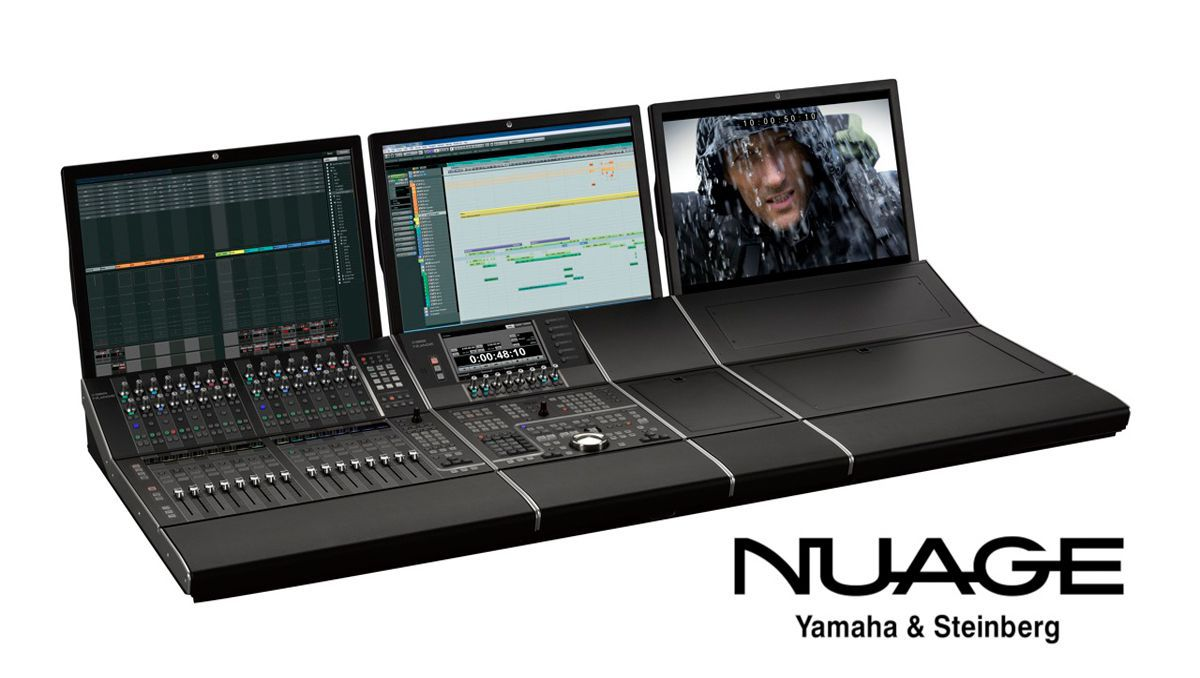 Yamaha NUAGE Fader DAW System Driver for Windows 10
