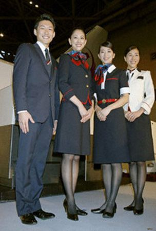 PHOTO : New uniforms for JAL employees