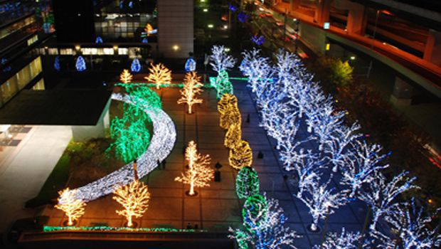 Two lac energy-efficient LEDs to illuminate Kyocera headquarters during this holiday season