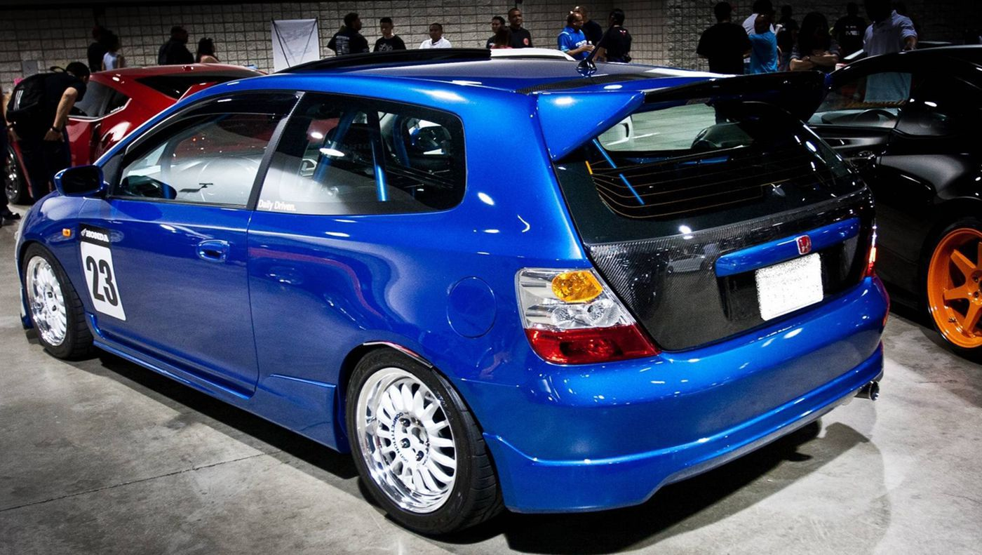 ... 2005 Tuned Honda Civic Si Hatchback